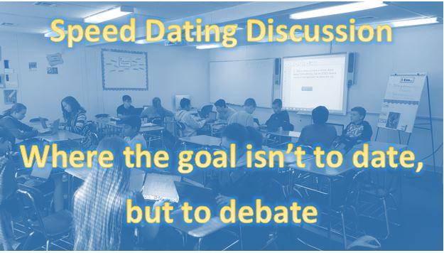 Speed dating activity ideas