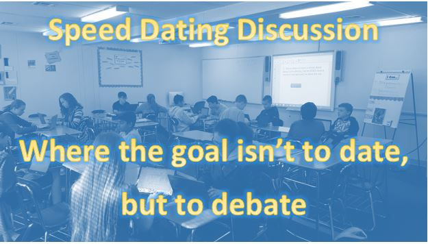 Speed dating questions esl