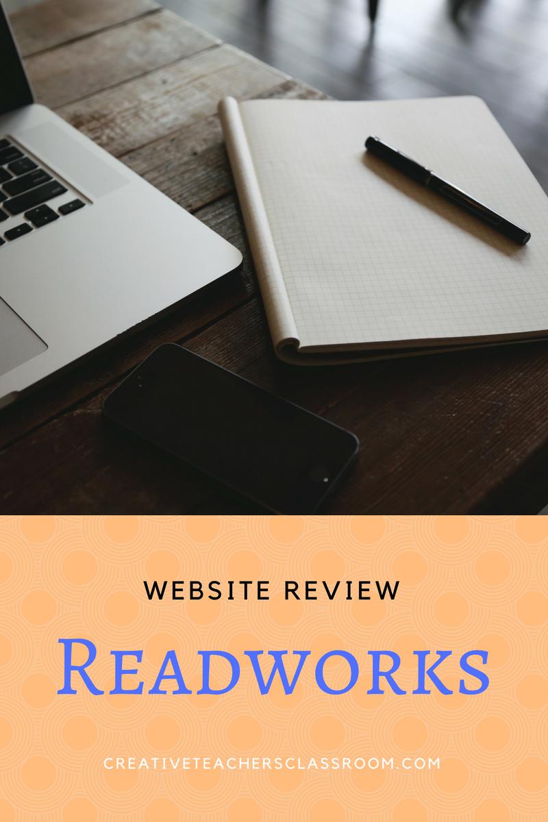 - Website Review: Readworks.org – Creative Teacher's Classroom